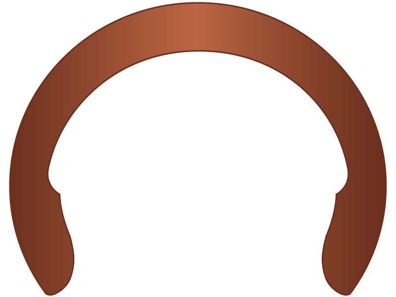 Crescent External Retaining Ring Clip 1 Beryllium Copper G L Huyett