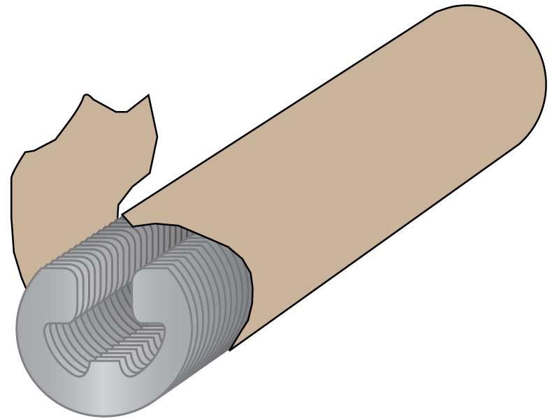 Carton: 100 pcs .625 E-Style Retaining Rings//Stainless Steel