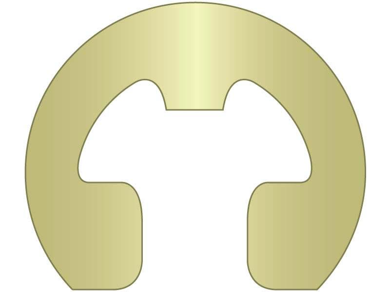 500 Pieces E-Clip External 1//4 CS PH 250 Pc Stk