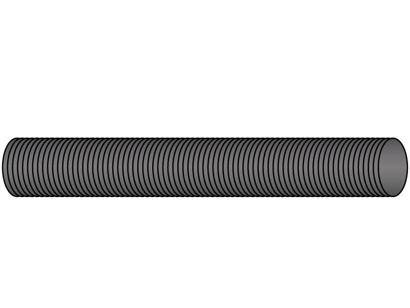 3//4-16x3 ft Steel Threaded Rod