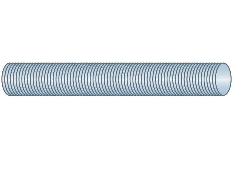 Steel 3//4-16x3 ft Threaded Rod