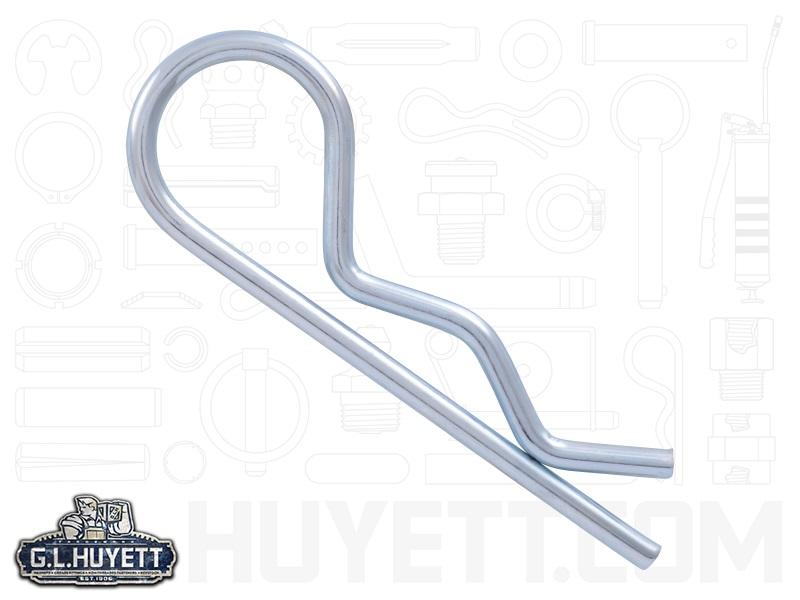 Bridge Hitch Hair Pin Clip .148 x 3-5/16 MB Spring Wire ZC | G.L. Huyett