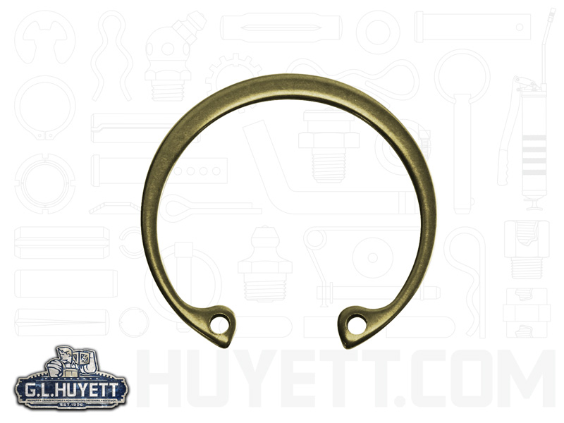 USA 1-11//16 Internal Housing Ring Pkg of 30 Zinc Yellow Spring Steel Stamped HO-168-ZD