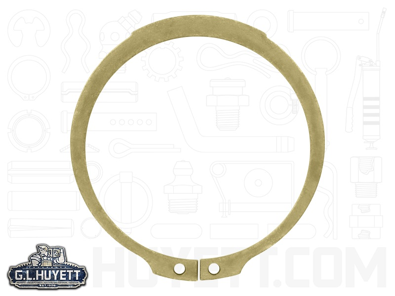 Retaining Ring SH-300SS Shaft Dia 3 In Ext