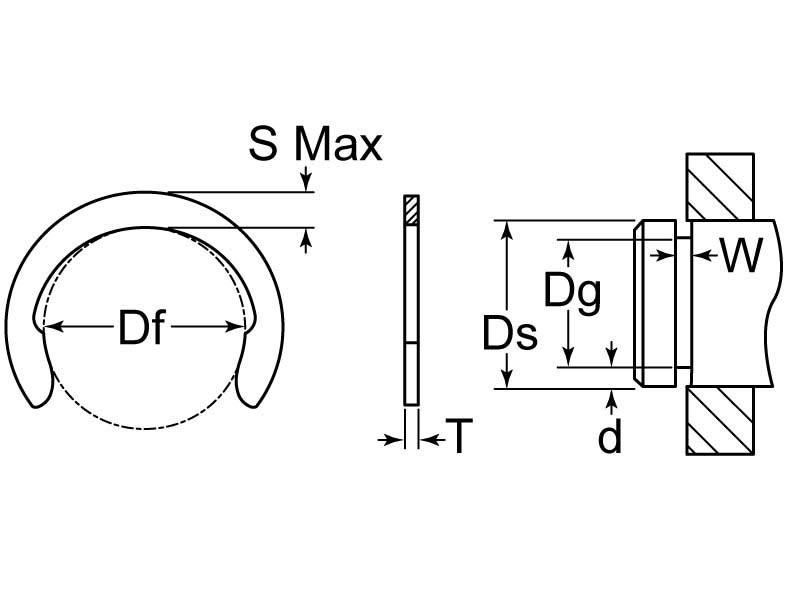 C-021-SS/B Drawing