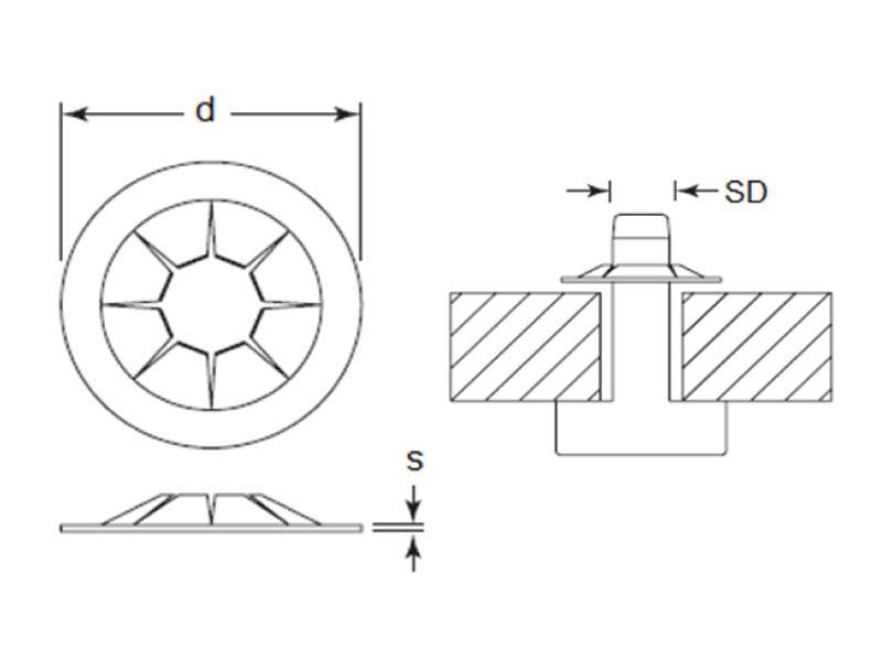 EFPOS-PS375012-27/B Drawing