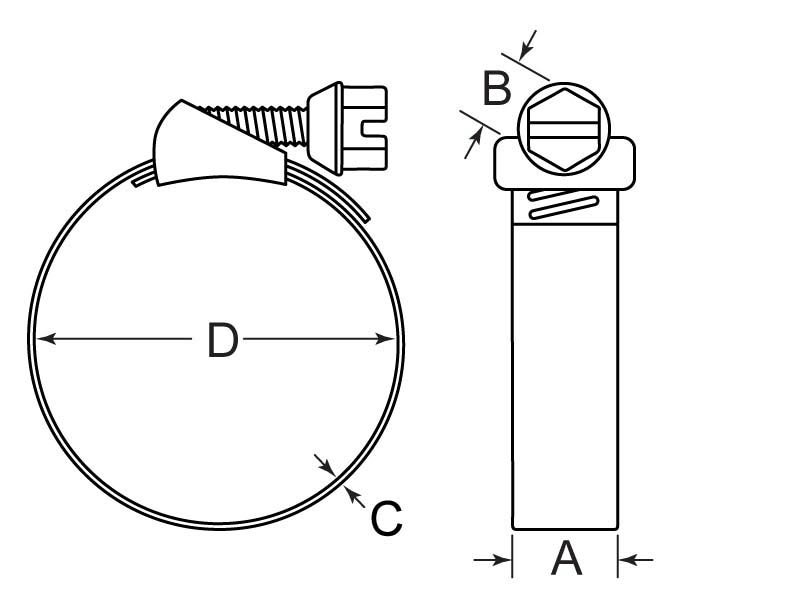 HCQR-442-188-5625 Drawing