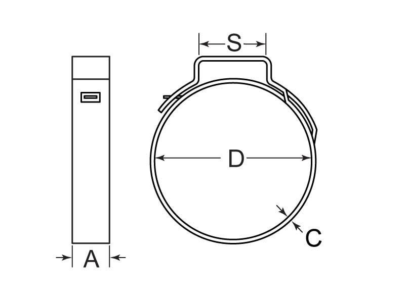 HCS1E-0346-7-SS Drawing